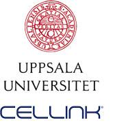 Universität Uppsala und Cellink Logo