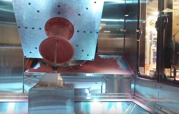 3D-gedruckte Kupferdüse mit WarpSPEE3D