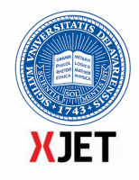 XJet und University of Delaware Logo