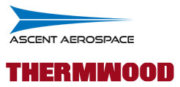 Ascent Aerospace und Thermwood Logo