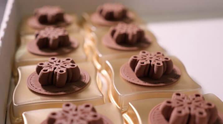 3D-gedruckte Schokolade von Cadbury