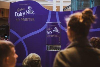 Cadbury Dairy Milk 3D-Drucker