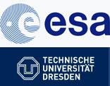 ESA und TU Dresden Logo