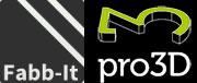 Logo Fabb-It und Pro3D