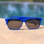 Fitz Frames blaue Brille für Kinder