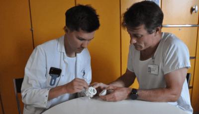 Ärzte im Inselspital üben am 3D-gedruckten Herzen