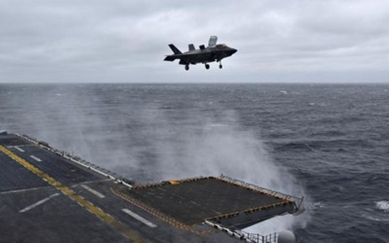 Landung mit dem System von Raytheon