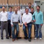 Mitarbeiter Nanoscribe Gruppenfoto