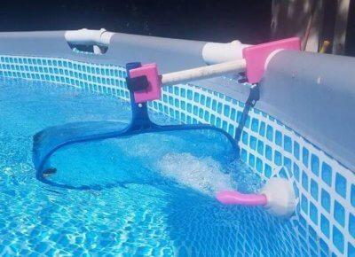 Netzhalter für den Pool