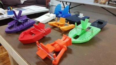 Paddelboot aus dem 3D-Drucker