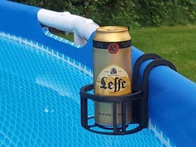 Pool-Bierhalter