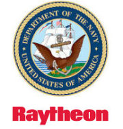 Raytheon und US Navy Logo