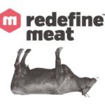 redefine meat Werbematerial