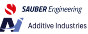 Sauber Engineering und Additive Industries Logo