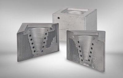 3D-gedruckte Metallobjekte
