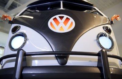 VW Typ 20 Bus von vorne