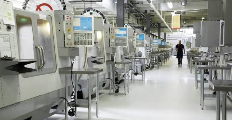 Industrielle 3D-Druck-Anlage