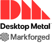 Logo Desktop Metal und Markforged