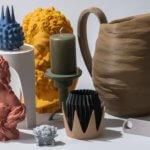 Verschiedene Objekte aus Art Filament