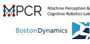 MPCR und Boston Dynamics Logo