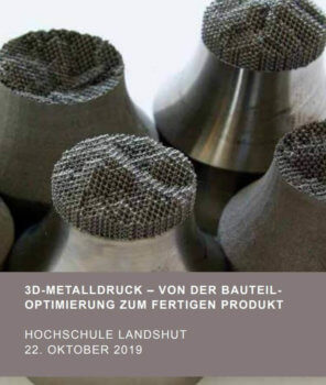 3D-gedruckte Objekte aus Metall