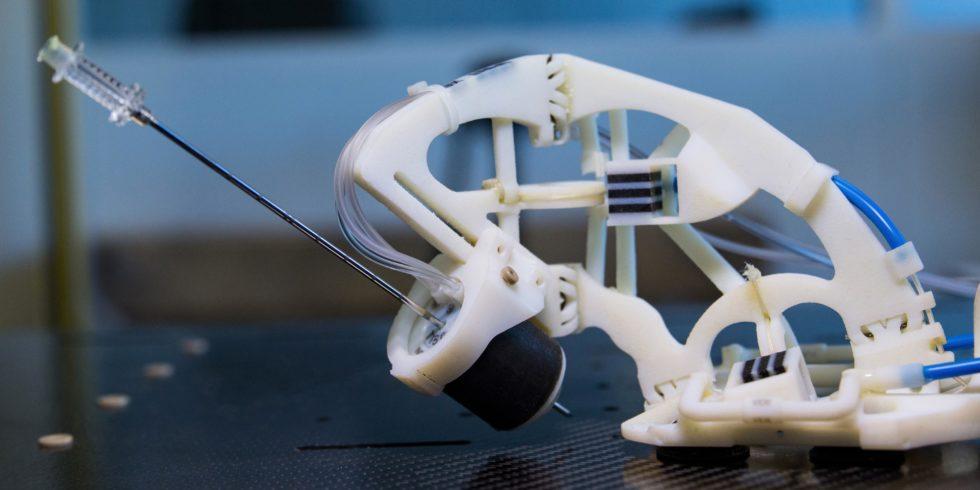 Prototyp des Medizinroboters
