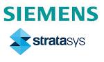 Siemens und Stratasys Logo