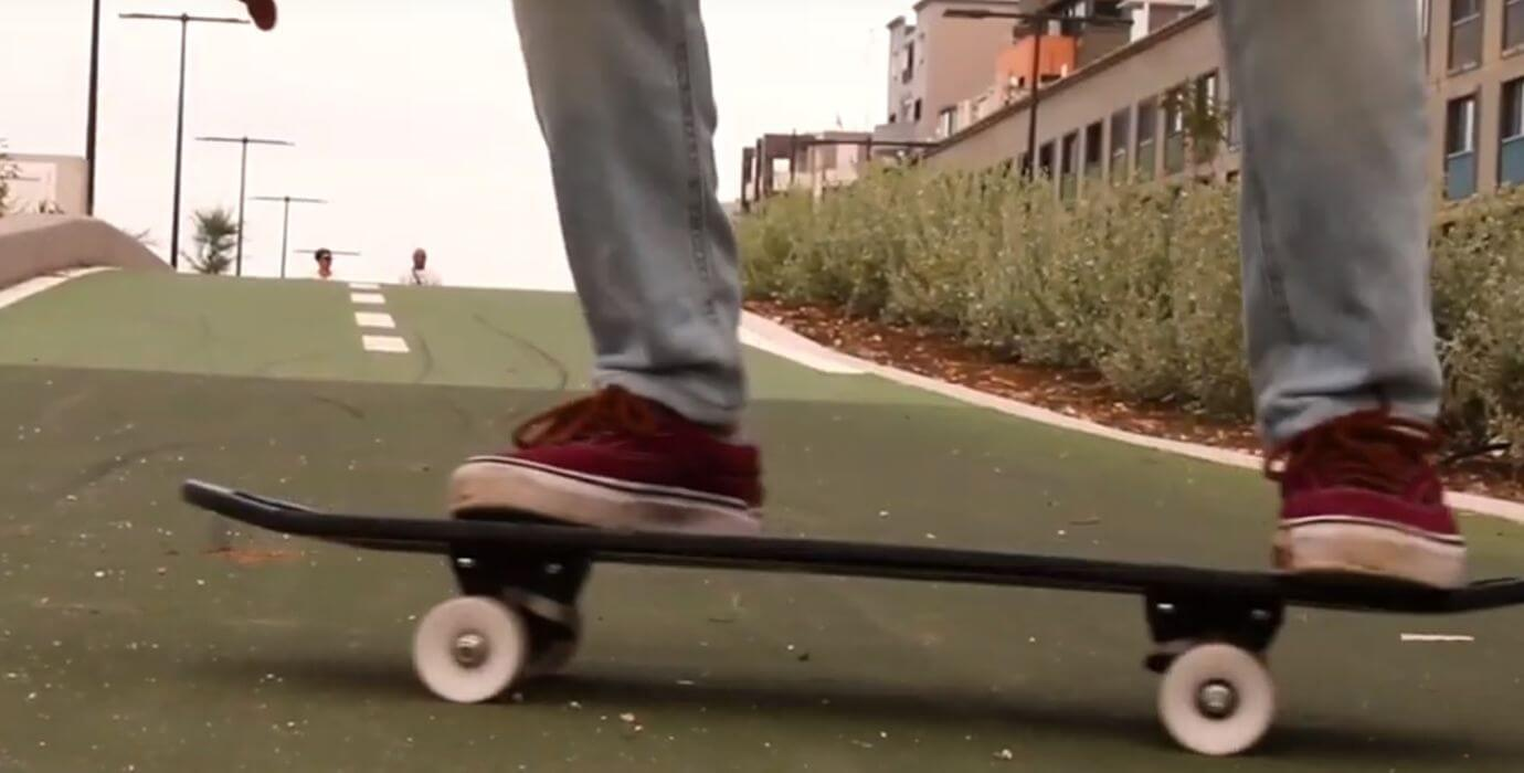 Skateboard aus dem 3D-Drucker