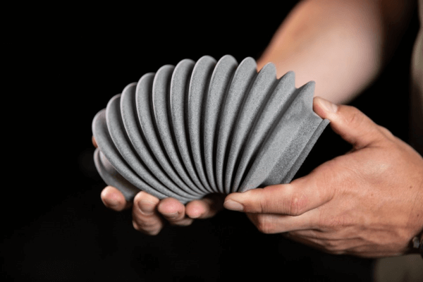 Druckobjekt mit Materialise Ultrasint TPU 01