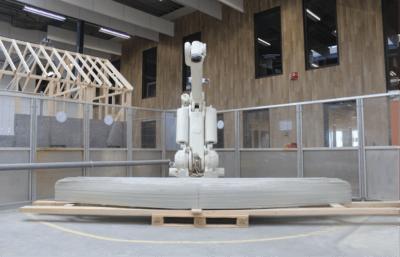 3D-Betondrucker von Vertico
