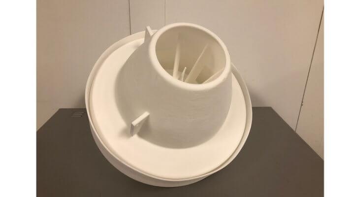 3D-gedruckter Diffusor