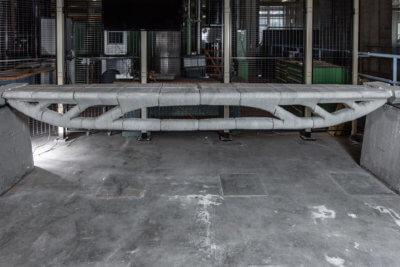 Vertico Steg aus 3D-gedrucktem Beton