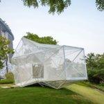 3D-gedruckte Struktur AirMesh