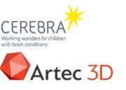 Logos von Cerebra und Artec 3D