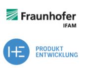 Fraunhofer IFAM und HEDD Logo
