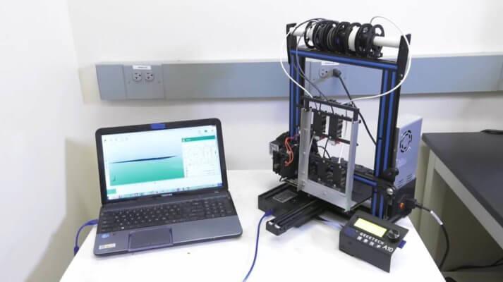Der Geeetech A10 3D-Drucker bei der NASA