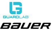 Logo von GuardLab Inc. und Bauer Hockey