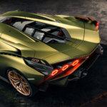 Hinteransicht Lamborghini Sián FKP 37
