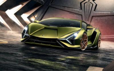 Ansicht vorne Lamborghini Sián FKP 37