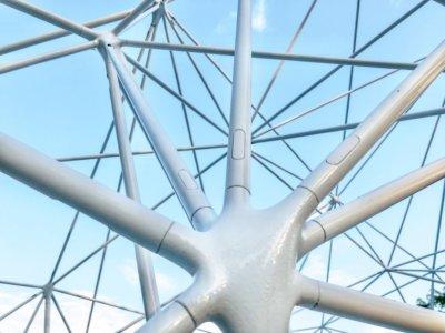 3D-Druck Struktur AirMesh Detail