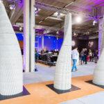 Vertico 3D-Betondruck-Betonsäulen