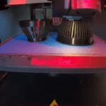 3D-Druck-Teile im 3D-Drucker MakerBot