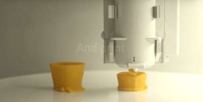 3D-Druck von Lebensmitteln