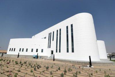 3D-gedrucktes, zweistöckiges Haus in Dubai