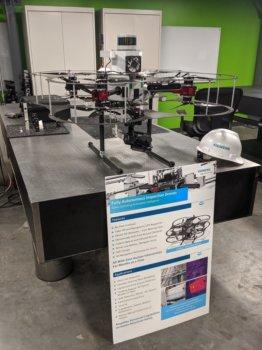 Autonome Drohne Siemens
