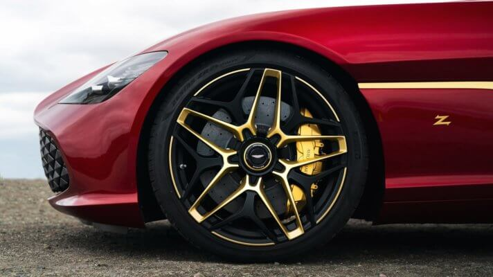 DBS GT Zagato mit Goldelementen