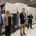 3D-Druckzentrum Eröffnung
