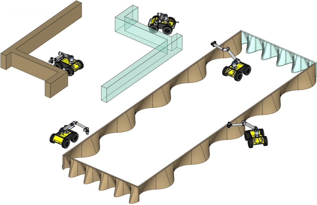 US-Forscher arbeiten an mobilem 3D-Drucker-Roboterkollektiv für das Bauwesen