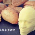 Butterkopf aus dem 3D-Drucker