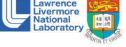 Logo Lawrence Livermore National Laboratory und University of Hongkong Logo